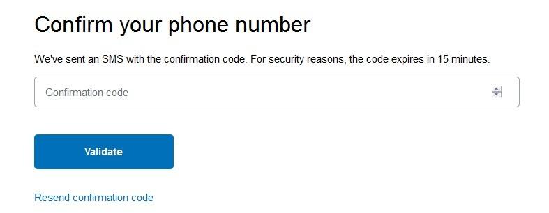 Paypal-phone-validate