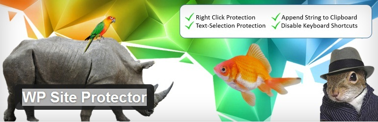 WP site protector plugin