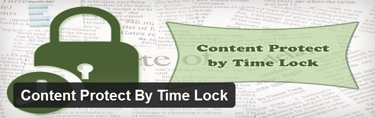 content protect by Time lock plugin