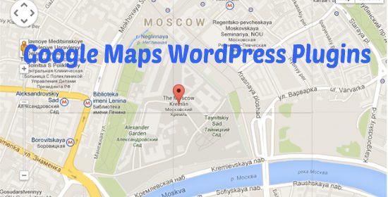 google maps wordpress plugin
