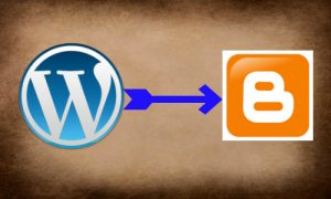 Wordpress blog conversion