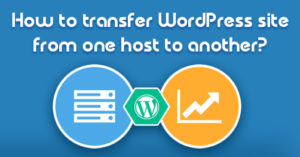 moving WordPress hosting