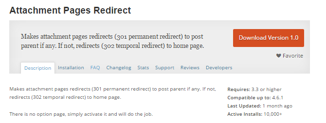 Redirect Attachments