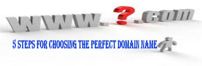 5 Steps for Choosing the Perfect Domain Name