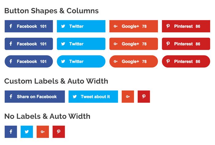 Social Media Plugins & Buttons