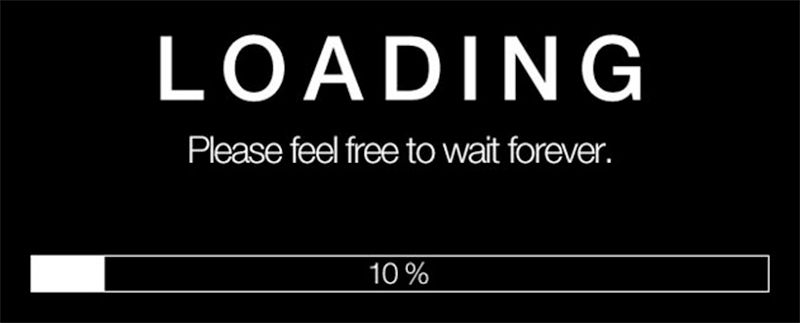 loading time of your website?