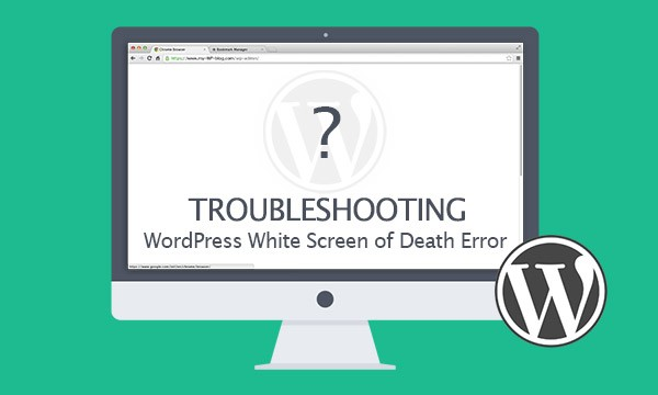 white screen death in wp